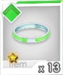 進化リング(緑)R1