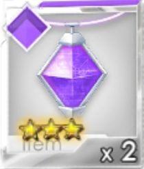 進化ネックレス(紫)R3