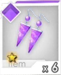 進化ピアス(紫)R1