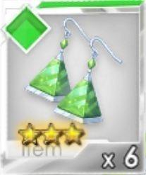 進化ピアス(緑)R3