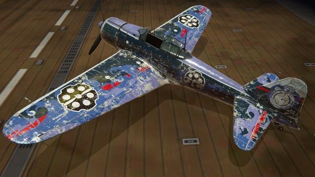 零戦二一型塗装:イサカ