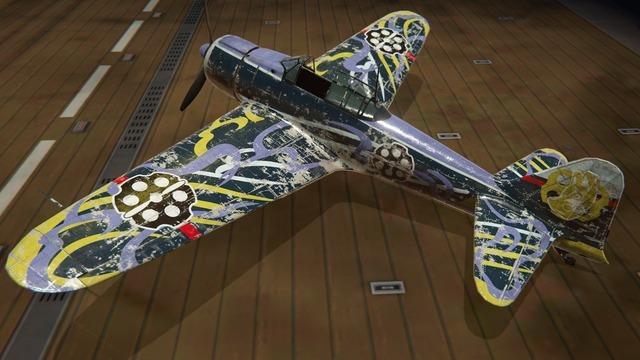 零戦二一型塗装:ローラ