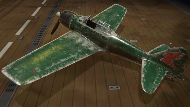 零戦三二型塗装:サブジー