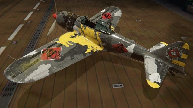 零戦五二型塗装:ミヤビ