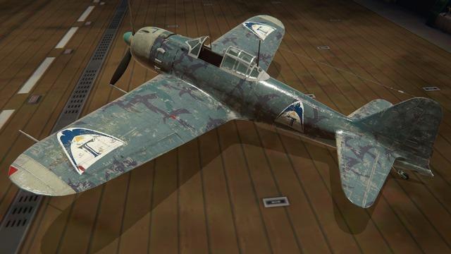 零戦五二型塗装:ツバクロ団