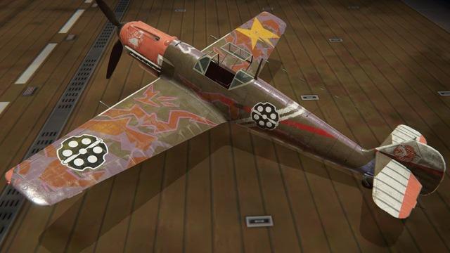 Bf109E塗装:月下の晩餐 フィオ