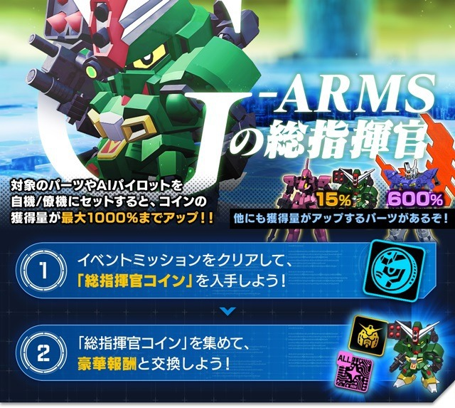 G-ARMSの総指揮官