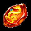 龍の赤結晶