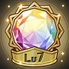転生の輝石(Lv7)