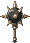 トゲ鉄球ハンマー