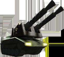 対ザク用タンク型自走砲【施設】