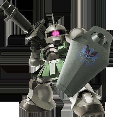ザクⅠ(ゲラート専用機)【砲撃】
