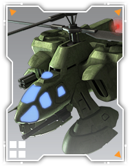 戦闘ヘリ【射撃】(ジオン軍)