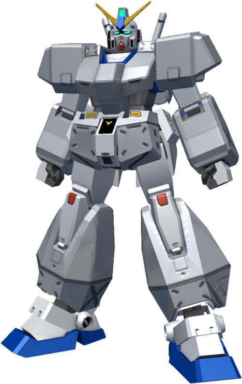 ガンダムNT-1[チョバムアーマー装備]