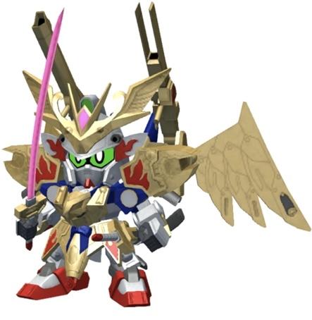 【改造】武者飛駆鳥[金色の羽衣]