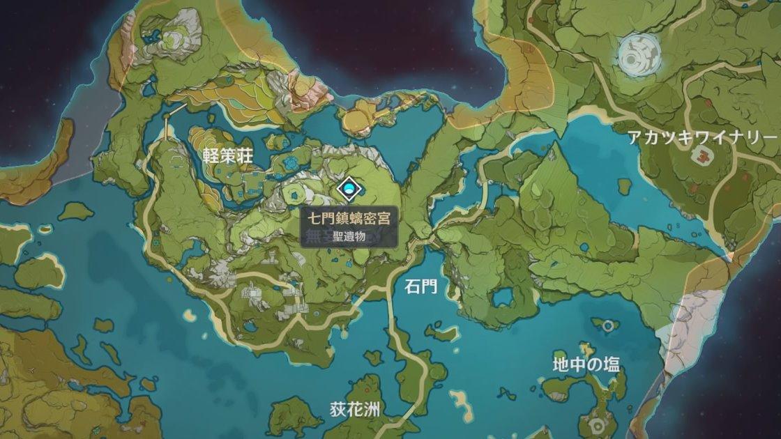 七門鎮螭密宮MAP