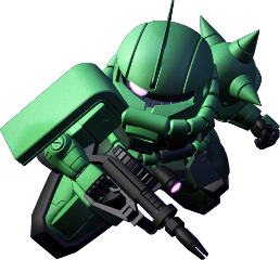 ザクⅡ(指揮官機)
