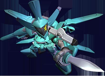 AEUイナクト(指揮官機デモカラー)
