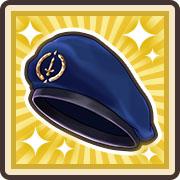 高級なベレー帽