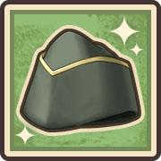 上質なギャリソン帽
