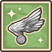 操縦士の記章・銀