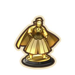 雷電魔王の像
