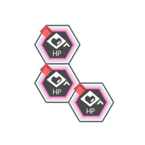 赤属性HPアップ100
