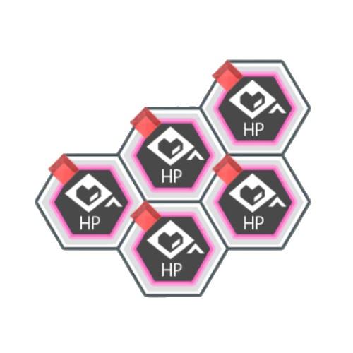 赤属性HPアップ+200
