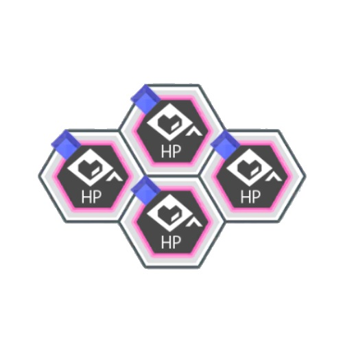 青属性HPアップ+200