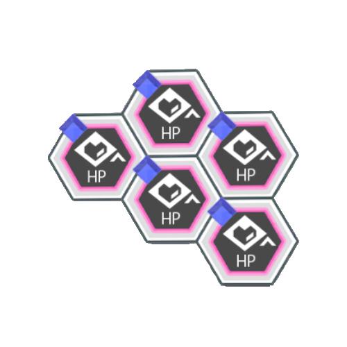 青属性バトルACTのHPが200アップ