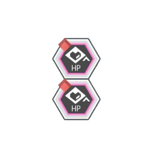赤属性HPアップ+50
