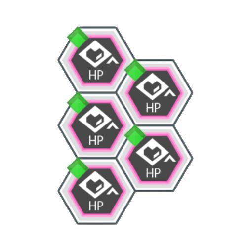 緑属性バトルACTのHP200アップ