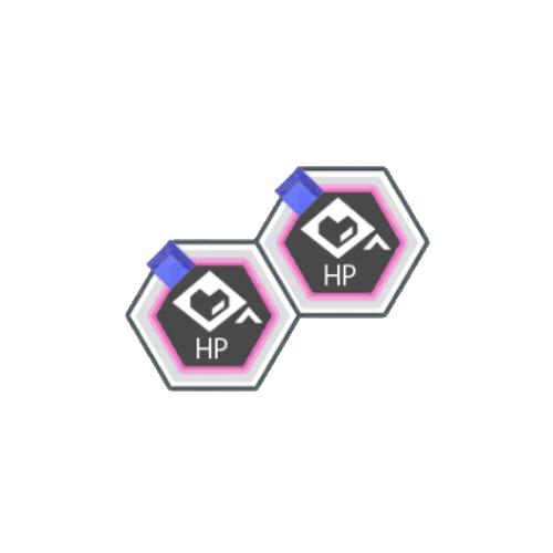 青属性HPアップ+50