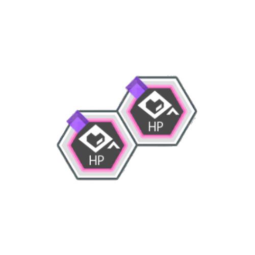 紫属性HPアップ+50