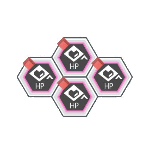 赤属性バトルACTのHPが300アップ