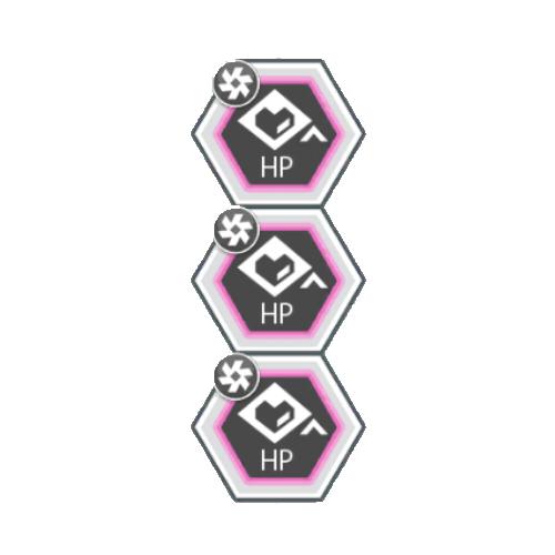 調和タイプバトルACTのHPが100アップ