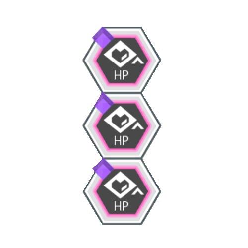 紫属性バトルACTのHP100アップ