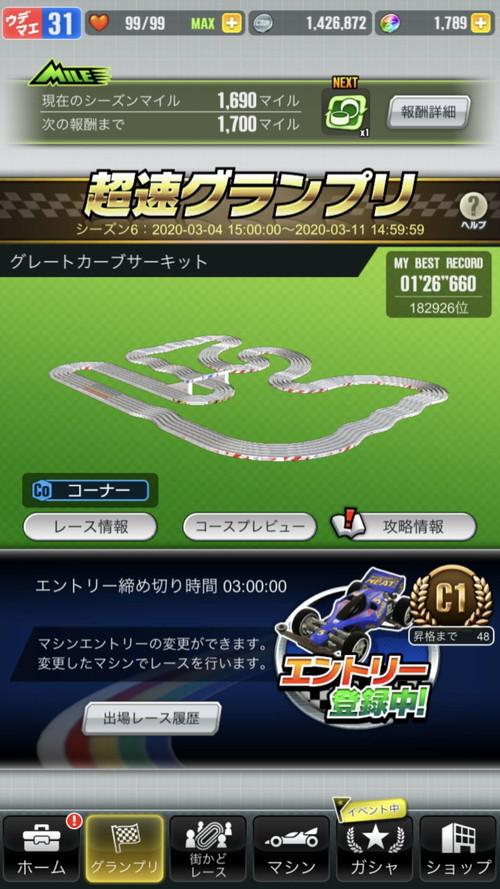 グランプリ イベント 攻略 超速
