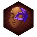 アメジストのマスク
