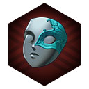 アクアマリンのマスク