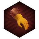 シトリンの手袋