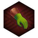 ペリドットの手袋