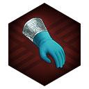 アクアマリンの手袋