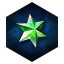 緑の星屑+
