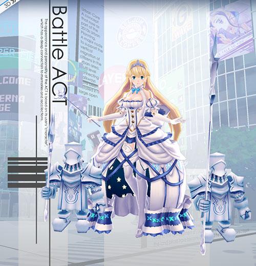 純白の灰かぶり姫シンデレラ