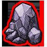 壊せない岩